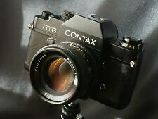 Contax RTS + Zeiss Planar 50mm F1.4 + adapter CY / sony e mount a7 nex7 alfa