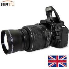 55mm 2X Telephoto Tele Converter Lens for Canon NIKON PENTAX Digital DC Camera