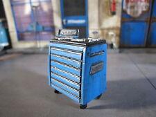 Werkstatt Werkzeugwagen Werkzeug Wagen Bausatz Diorama Deko Zubehör Set 1/18