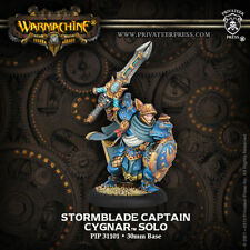 Warmachine: Cygnar Stormblade Infantry Captain Storm Knight Solo PIP 31101