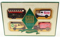 Lledo Diecast MS1004 - Marks & Spencer Set - Bus 2 Vans Horse Carriage