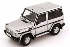 1 18 Autoart Millennium Mercedes-benz G500 1990 1998 SWB Argento