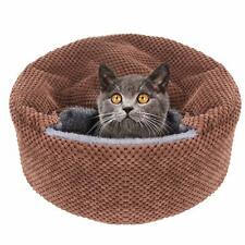 Winsterch Washable Warming Cat Bed House Soft Pet Sofa Kitten Bed Small Dog Beds