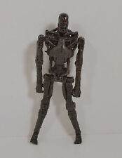 "2009 All Black T-700 4"" Playmates Toys Action Figure Terminator Salvation"