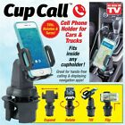 Cup Call Hands Free Vehicle Cell Phone Mount - As Seen On TV