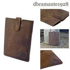 DBramante 1928 Genuine Leather Sleeve Case for iPad Mini 4 3 2 1 - Hunter Brown