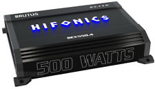 HIFONICS BEX550.4 500 WATT RMS 4 CHANNEL CAR AMPLIFIER SUB/SPEAKER AMP 1000 MAX