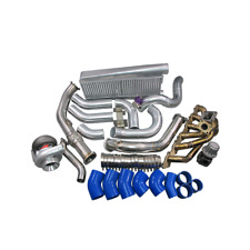 Turbo Intercooler Kit For Land Cruiser J80 1FZ-FE 1FZ Blue
