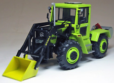 WEISE-TOYS 1:32 SCALE MERCEDES BENZ MB TRAC 900 TURBO WITH FRONT LOADER 1038