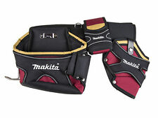 "MAKITA Red Heavy Duty Belt SET 92cm 36"" Multi Tool Holder/Pouch/Holster 66-974"