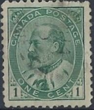 Canada   #  89      KING EDWARD VII  ISSUE     Used  1903  Issue
