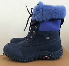 Womens Size 7 Navy UGG Adirondack Boots II Warm Winter Water Resistant 1001785
