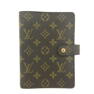 Louis Vuitton Monogram Agenda MM Notebook Cover /91875