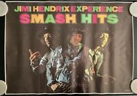 Vintage Jimi Hendrix Experience Smash Hits Poster