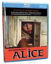 Jan Svankmajer's Alice (2014, Blu-ray NEUF) BLU-RAY/WS