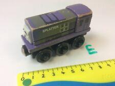 Splatter Train Engine From Thomas -Wooden Train Track - Fits BRIO, ELC etc