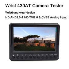"Portable 4.3"" Screen 12V-Output HD-TVI/AHD+CVBS IP Camera Video CCTV Tester"