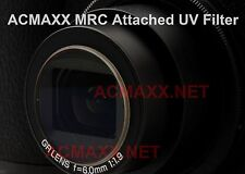 ACMAXX LENS ARMOR Multi-Coated UV attached FILTER Canon PowerShot SX700 HS 700HS