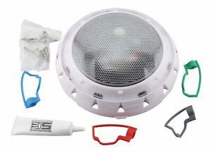 SPA ELECTRICS GKRX RETRO LED TRI COLOUR - WHITE RIM