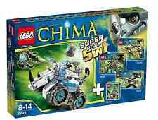 LEGO ® Legends of Chima 66491 SUPER PACK 5 in 1 NUOVO OVP _ VALUE PACK NEW MISB NRFB