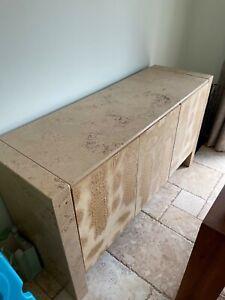 Stone International Italian Travertine Sideboard