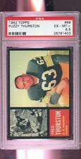 1962 Topps #69 Fuzzy Thurston ROOKIE RC Packers PSA 6.5 Graded Football Card NFL
