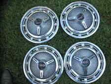 "1965 Chevrolet Impala Super Sport Spinner Hubcaps (4) ""Nice""!"