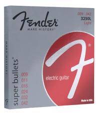 Fender 0733250403 3250 L 9-42 Bullet Guitar Strings