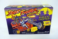 STREET FIGHTER KARATE CHOPPER Vintage GI Joe Figure Vehicle MISB / COMPLETE 1994