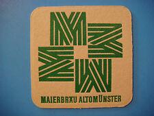 Beer Coaster <> Brauereigasthof Maierbräu, Altomunster, Germany ~ Maierbrau Bier