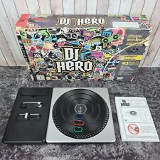 DJ Hero And Turntable - Sony PlayStation 3 PS3 - No Dongle or Game Included