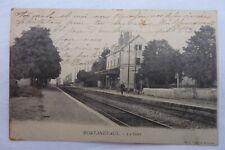 CPA 71 - PONTANEVAUX -La Gare  1903  Réf E / 09