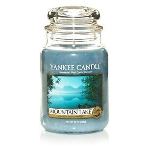 Yankee Candle - MOUNTAIN LAKE - 22 oz - Great Fresh Summer Scent - RARE!!