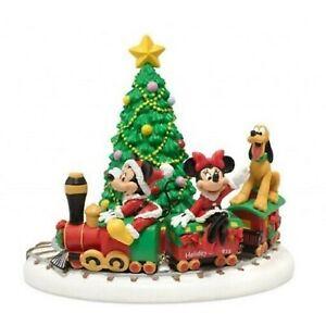 Dept 56 Disney Mickey's Holiday Express 4020326 Torn Box