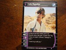 Star Wars TCG Luke Skywalker (C) Promo #12