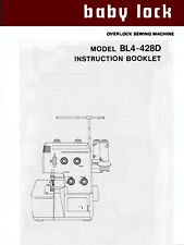 Simplicity BH600 Blindhemmer Service manual /& Parts List Baby Lock  BL101 CD