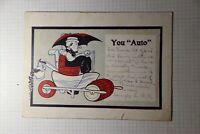 "You ""Auto "" Souvenir Postcard"