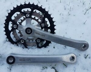 Shimano Deore LX FC-M563 Chainset. 1994 IG42/32/22 175mm VGC