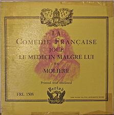 COMEDIE FRANCAISE: Le Medecine Malgre Lui de Moliere-NM195?LP