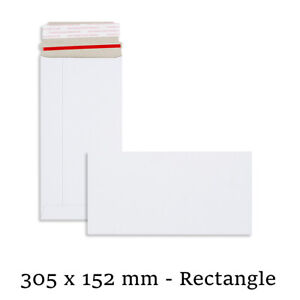 Quality All Board White Envelopes 305x152 mm Size For Calender Cheap Mailer
