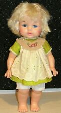 Vintage Dublon EEGEE Co. Doll 13 Inch Blonde LOVELY DOLL W/PAINTED EYES 1960s
