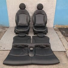 BMW Mini Cooper One R56 Sports Full Leather Black Interior Seats with Airbag