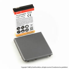3800mAh Extended Battery for Motorola Droid X MB810 X2 MB870 Black Cover