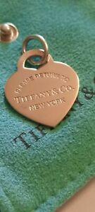 Tiffany & Co Rubedo Gold Heart Charm Rare lovely condition