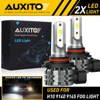 2X H10 9145 9140 LED Fog Light DRL Bulb Super Bright 4000LM Halogen Replacement