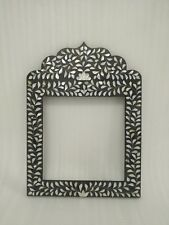 Mother of Pearl Inlay Mirror Frame Furniture Home Decor Mirror Frame Distressed