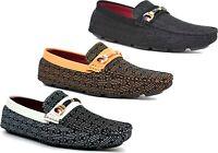 Mens designer fashion Moccasins loafers driving slip on Shoes UK Size 6-12