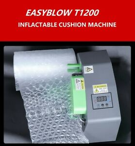 Easyblow T1200 Inflatable Air cushion machine with 300m film Protective packing