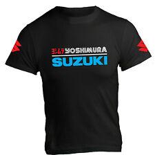 T-Shirt Yoshimura Suzuki Racing Pop Moto Gsxr Gixxer Pista Strada Hamamatsu
