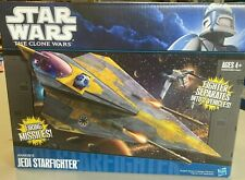 Hasbro Star Wars The Clone Wars Anakin's Jedi Starfighter Collectible-New in box